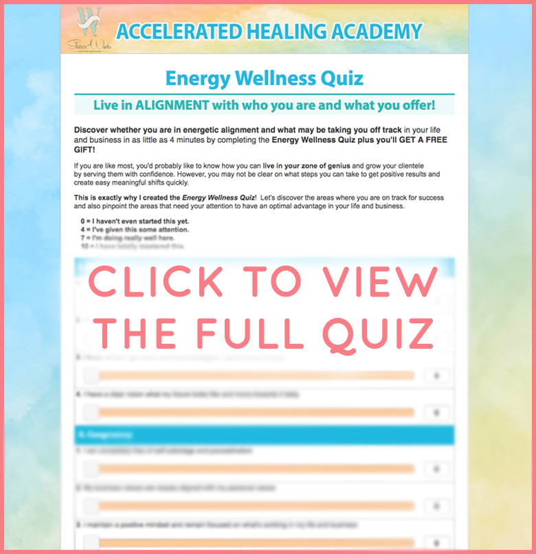 TAKE MY ENERGY WELLNESS QUIZ AND GET A FREE GIFT