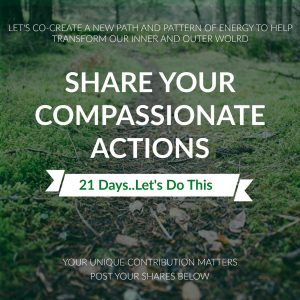 The Power of Your Compassionate Actions